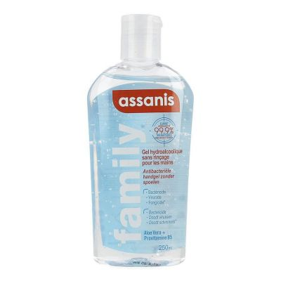 Assanis Family ontsmettende handgel flip-top Gel 250ml