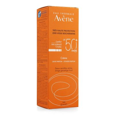 Avène Solar crema sin perfume SPF50+ Crema 50ml