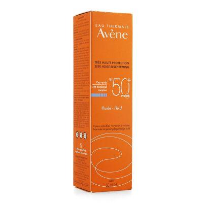 Avène Solar fluido perfumado SPF50+ Crema líquida 50ml