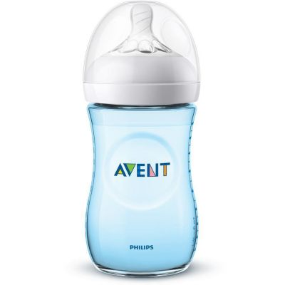 Avent Natural 2.0 Saugflasche blau 260ml 1 Stück