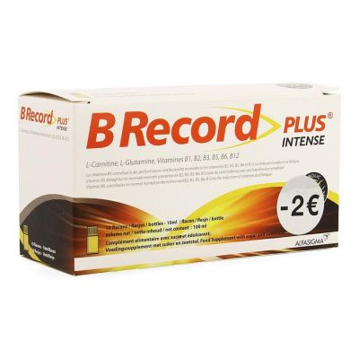 B Record Plus Intense Promo Flacon 10x10ml