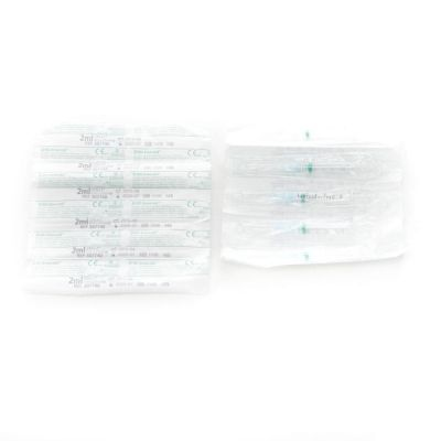 BD Emerald Spritze Luer 2ml + Nadel 23G 10 Stück