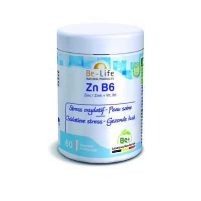 Be-Life Zn B6  Capsules 60 pièces