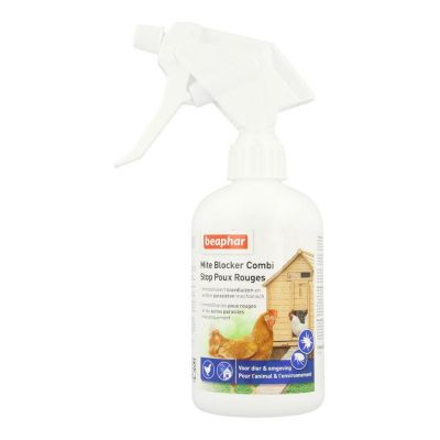 Beaphar Mite blocker combi kippen Spray 500ml