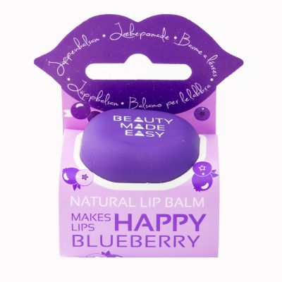 Beauty made easy Lipbalm Blueberry Balsem 6,8g