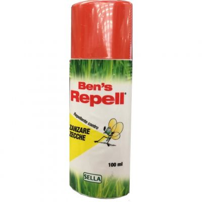 Ben's Repel Biocida 30% Insetti Zanzare Spray 100ml