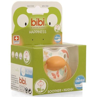 Bibi Fopspeen Happiness Favourites Dental 16m+ 1 stuks