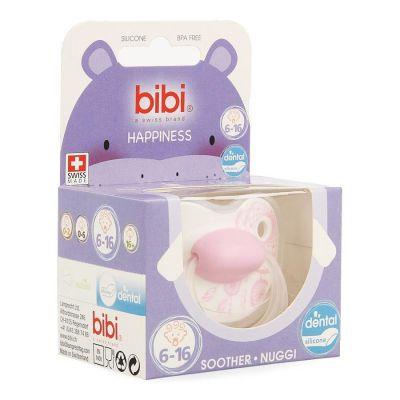 Bibi tetina Happiness Dreamcatcher Dental 6-16m 1 unidades
