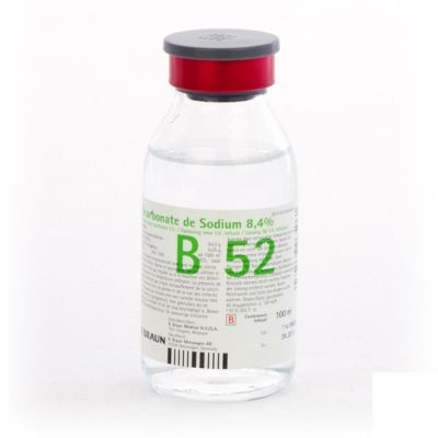 Bicarbonate de sodium 8,4% 100ml