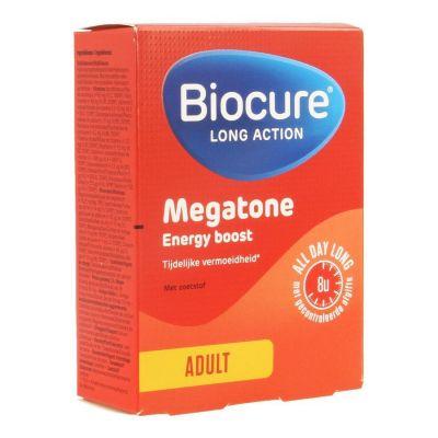 Biocure Megatone LA Energy Boost Tabletten 30 stuks