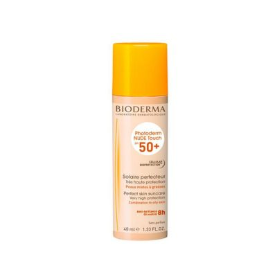 Bioderma Photoderm Nude Touch SPF50+ Natuur Vloeibare crème 40ml