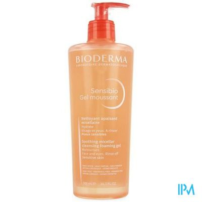 Bioderma Sensibio gel moussant Gel 500ml