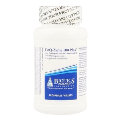 Biotics CoQ-Zyme 100 Plus Softgel 60 stuks