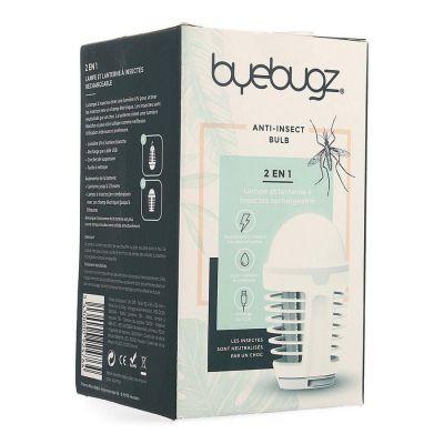 Byebugz Anti-insectes Bulb Lumière Sans Fil Appareil 1 pièces