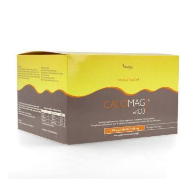 CalciMag VitD3 1000 orange Zakjes 90 stuks