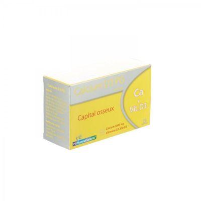 Calcium D3 Pharma Generics Capsules 60 pièces
