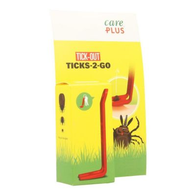 Care Plus Tick-out Ticks-2-go Pincet 1 stuks