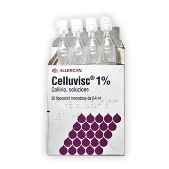 Celluvisc Collirio 10mg/mL Monodose 30x0,4ml