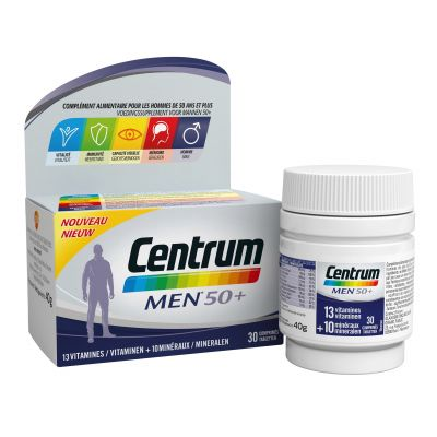 Centrum Men 50+ Tabletten 30 stuks