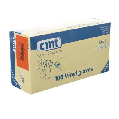 CMT gants en vinyl non-poudré small 100 pièces
