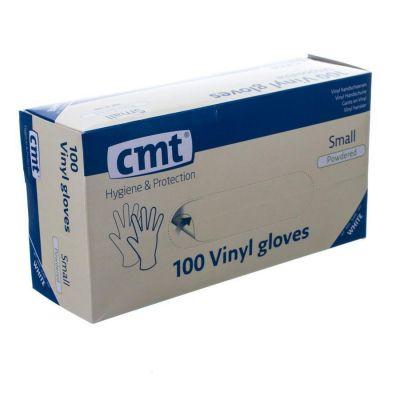 CMT gants vinyl poudré small 100 pièces