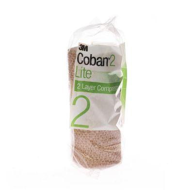 Coban 2 Lite compression 15cmx3,5m couleur peau 1 pièces