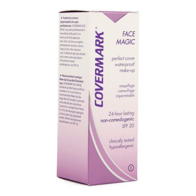 Covermark Face Magic N°1 Beige Clair Crème 30ml