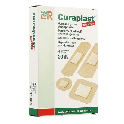 Curaplast Sensitives pansements 20 pièces