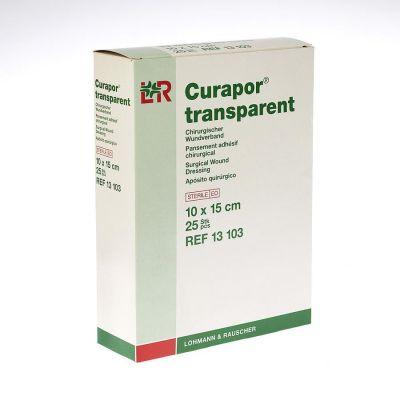 Curapor Transparant 10x15cm 25 Stück