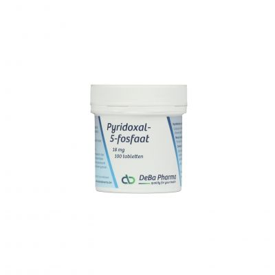 Deba Pyridoxal-5-Fosfaat 18mg Tabletten 100 stuks