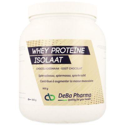 Deba Whey Proteine Isolat Chocolat Poudre 900g