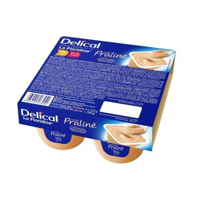 Delical Creme La Floridine Praline Pudding 4x125gr