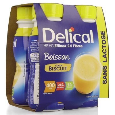 Delical Effimax 2.0 koekjes Drankje 4x200ml