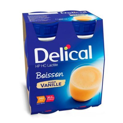 Delical HP-HC 360kcal Vanille  Drankje 4x200ml