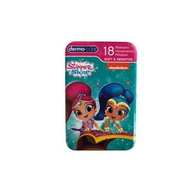 Dermocare Soft & sensitive Shimmer&shine 18 stuks