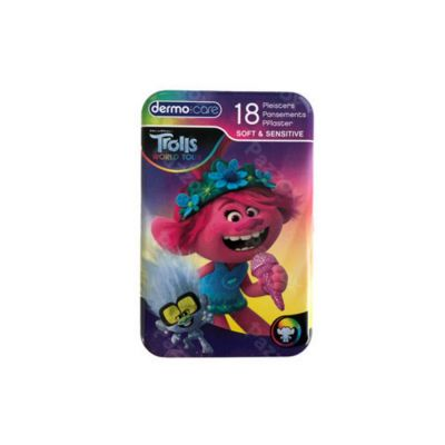 Dermocare Soft & sensitive Trolls Pansements 18 pièces