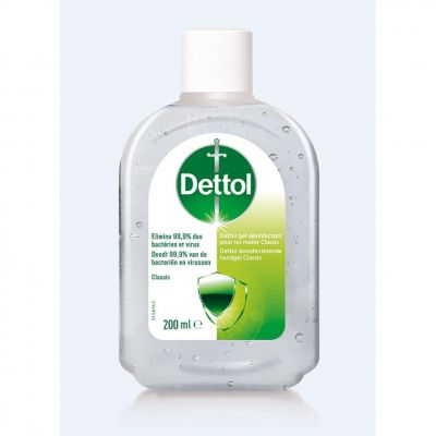 DETTOL GEL MAINS ANTIBACT CLASSIC Gel 200ml