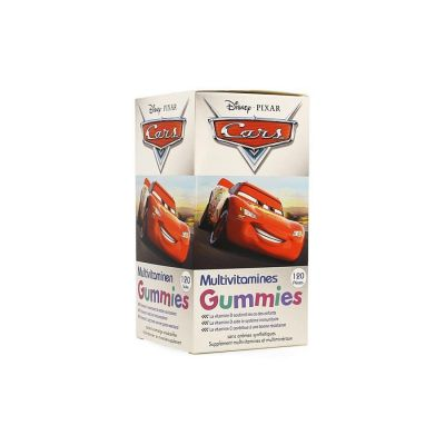 Disney multivitamines Cars Gommes 120 pièces