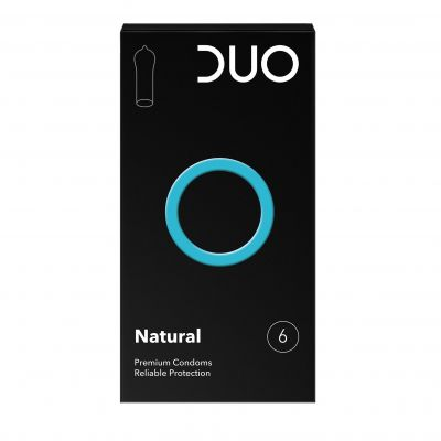 Duo Kondome Natural 6 Stück
