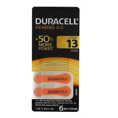 Duracell pile auditive easy 13 Batterie 6 pièces