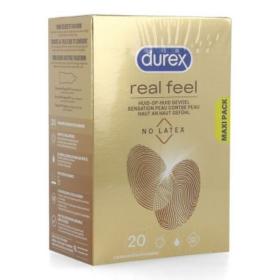 Durex Real feel Latex-free 20 stuks