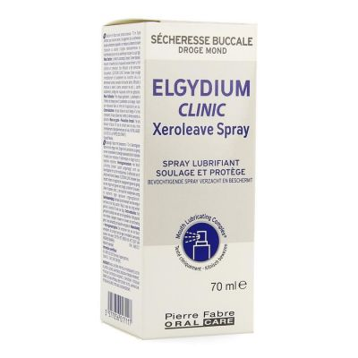 Elgydium Clinic Xeroleave Spray 70ml