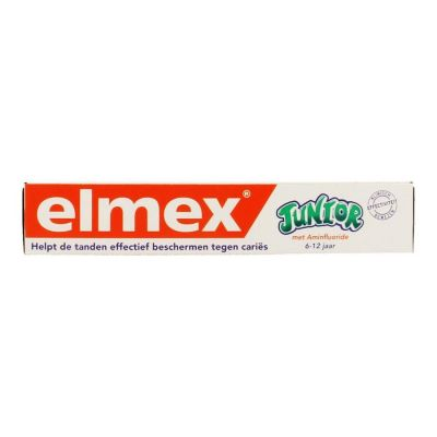 Elmex Junior 6-12j Tandpasta 75ml