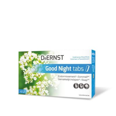 Ernst Good night tabs Capsules 42 stuks