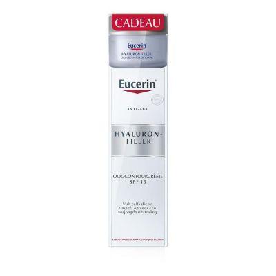 Eucerin Anti-âge Hyaluron-Filler contour des yeux Promo Crème 15ml
