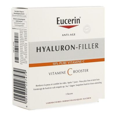 Eucerin Anti-Age Hyaluron-Filler Vitamin C Booster Serum 3x8ml