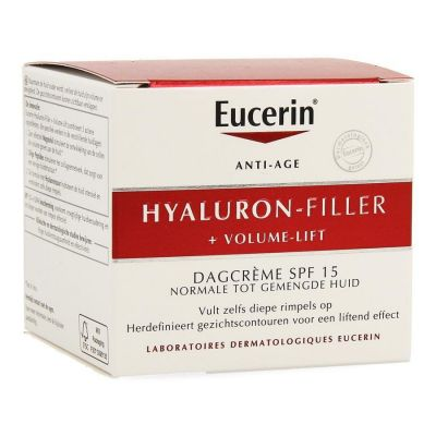 Eucerin Anti-age Hyaluron-Filler + Volume-Lift Dag normale huid Crème 50ml