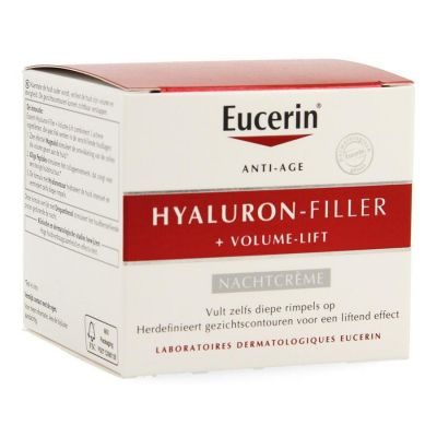Eucerin Anti-age Hyaluron-Filler + Volume-Lift Nacht Crème 50ml