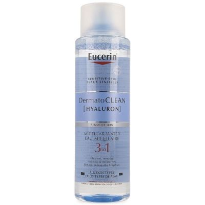 Eucerin Dermatoclean Hyaluron micellair water 3 in 1 Micellaire oplossing 400ml