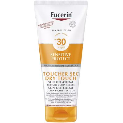Eucerin Sun Sensitive protect Dry touch SPF30 Gel-crème 200ml